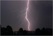 Gewitter über Gaißach
